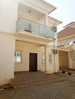 a Tastefully Finished Serviced 4 Bedroom Semi-detached Duplex with 1 Bq, District, Jabi, Abuja, Semi-detached Duplex for Rent