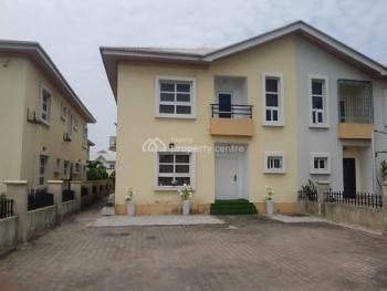 Vacant 4 Bedroom Duplex with Bq, Friends Colony, Agungi, Lekki, Lagos, Semi-detached Duplex for Sale