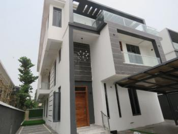 Exquisitely Finished 7 Bedroom Fully Detached House with 2rooms Bq, Lekki Phase 1, Lekki, Lagos, Detached Duplex for Sale