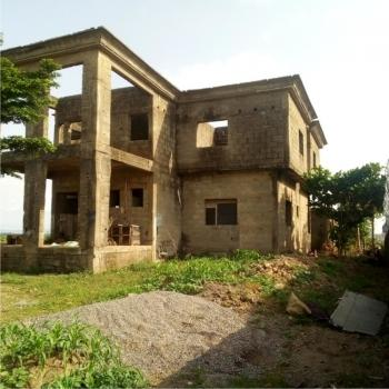 Solid 5 Bedroom Duplex Carcass with Bq, Lokogoma District, Abuja, Detached Duplex for Sale