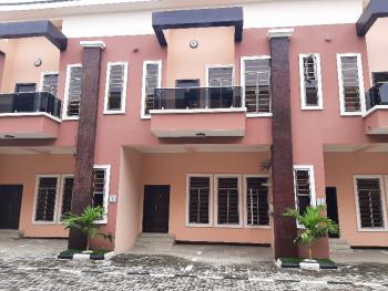 Serviced 4 Bedroom Terrace with Excellent Facilities, Chevron, Lekki Phase 2, Lekki, Lagos, Terraced Duplex for Rent