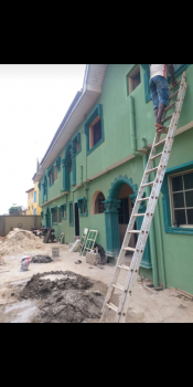 Newly Build Two Bedroom Apartment, Off Igbe Road Oreyo, Igbogbo, Ikorodu, Lagos, Semi-detached Bungalow for Rent