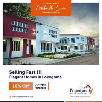 Luxury 3 Bedroom Terrace Duplex, Micheville Estate, Lokogoma District, Abuja, Terraced Duplex for Sale
