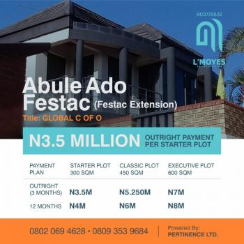 Plots of Land with Cofo, Abule-ado, Festac, Amuwo Odofin, Lagos, Mixed-use Land for Sale