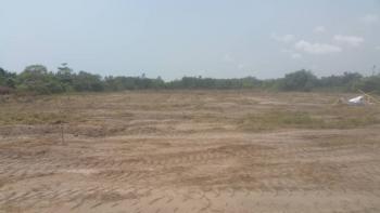 4400 Strategic Fenced Land, Directly on Alpha Beach Road, Igbo Efon, Lekki, Lagos, Mixed-use Land for Sale