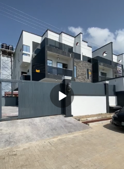 Luxury 4 Bedroom Semi Detached Smart House with Bq, Immediately After 2nd Toll Gate, Lekki, Lagos, Semi-detached Duplex for Sale