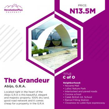 Plots of Land, Grandeur Estate, Abijo, Lekki, Lagos, Mixed-use Land for Sale