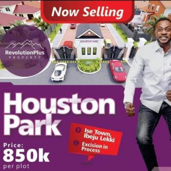 Houston Park Estate Plot of  Land, Houston Park Estate, Akodo Ise, Ibeju Lekki, Lagos, Mixed-use Land for Sale