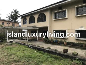 Detached House with Garden Area and 2 Room Bq on 1000sqm, Off Adeola Odeku, Victoria Island (vi), Lagos, Detached Duplex for Sale
