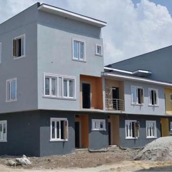 Nicely Built 4 Bedroom Terrace Duplex, Wealthland Green Estate, Oribanwa, Ibeju Lekki, Lagos, Terraced Duplex for Sale