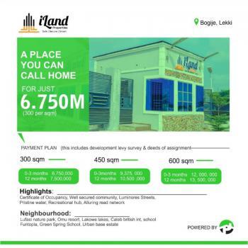 Land, Iland Properties Estate, Bogije, Ibeju Lekki, Lagos, Mixed-use Land for Sale