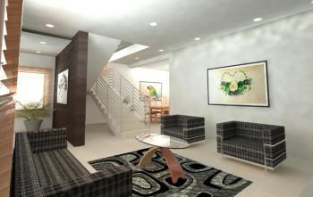 Luxury 3 Bedroom Terrace Duplex, Behind Romey Garden Estate, Opposite Nicon Town, Lekki Phase 1, Lekki, Lagos, Terraced Duplex for Sale