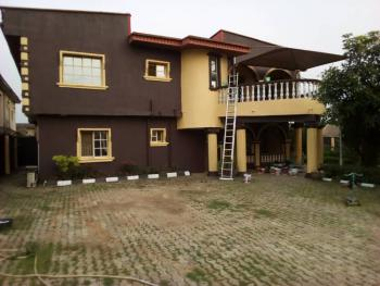 a Detached Building of 2-flats on 2-plots of Land in an Estate, Dr. Taiwo Estate, By Tipper Garage, Alukoro, Berger, Arepo, Ogun, Block of Flats for Sale