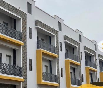 Fully Automated 4 Bedrooms Terrace Duplex, Wuye, Abuja, Terraced Duplex for Sale