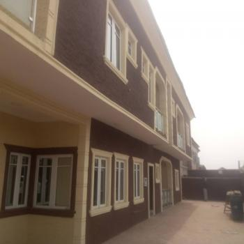 Newly Built 4 Bedroom Duplex with 2 Bedroom, Olaniyi Road, New Oko-oba, Agege, Lagos, Semi-detached Duplex for Sale