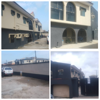 Neatly Used 4 Bedroom Flat Up with 3 Units of 3 Bedroom Flat, Ago Palace, Isolo, Lagos, Flat for Sale