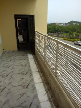Well Finished Spacious and Newly Built 4 Bedroom Serviced Flat, Guzape, By Nnpc, Guzape District, Abuja, Mini Flat for Rent