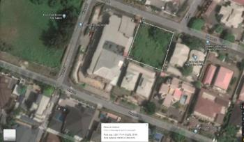 Fully Fenced and Gated Plot Measuring Almost 1,283sqms, Phase 1., Osborne, Ikoyi, Lagos, Residential Land for Sale