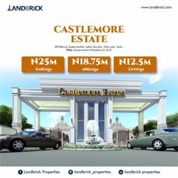 Plots of Land Available, Oko-ado Road, Castlemore Estate, Ado, Ajah, Lagos, Residential Land for Sale