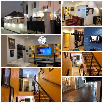 5 Bedrooms with 2 Rooms Bq, University View Estate, Sangotedo, Ajah, Lagos, Detached Duplex for Sale