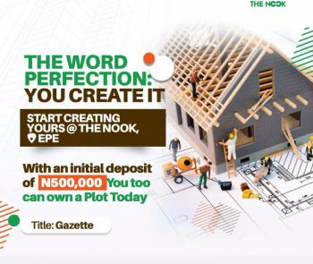 Eco Friendly Residential Estate, The Nook, Epe, Lagos, Residential Land for Sale