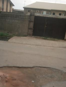 Fenced with Gate Half Plot of Land in a Good Area, Off Iju Road By Lonlo Bus Stop, Fagba, Agege, Lagos, Residential Land for Sale