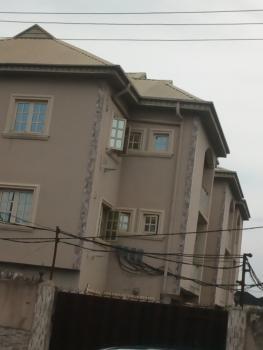Second Floor 2 Bedroom Flat on a Tarred Street, Ogba, Ikeja, Lagos, Flat for Rent