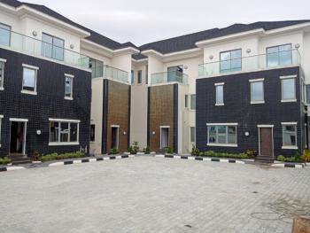 Exquisite 4 Bedroom Terraced Duplex + Bq & Fitted Kitchen, Lekki Phase 1, Lekki, Lagos, Terraced Duplex for Rent