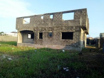 Approximately 3 Plots of Land with an Uncompleted Duplex in It., Ologolo, Lekki, Lagos, Residential Land for Sale