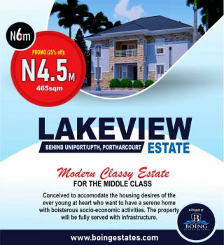 Land, Lake View Estate, Behind Uniport / Upth, Port Harcourt, Rivers, Land for Sale