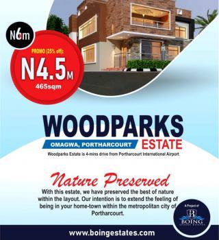 Land, Wood Parks Estate, International Airport Road, Port Harcourt, Rivers, Residential Land for Sale