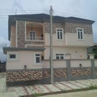 5 Bedroom Detached Duplex(all En-suite) With Jacuzzi, Fitted Kitchen, Laundry Room, Family Lounge, Ante Room, Water Treatment Plant, Security House And Boys Quarters, Ikota Villa Estate, Lekki, Lagos, 5 Bedroom, 6 Toilets, 5 Baths House For Sale