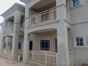 King-size 2 Bedroom with Extra Guest Room, Gbazango Train Station, Kubwa, Abuja, Flat for Rent