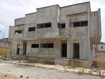 4 Bedroom Semi Detached Duplex with Bq (carcass), Diamond Estate, Sangotedo, Ajah, Lagos, Semi-detached Duplex for Sale