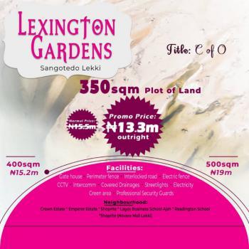 500 Sqm Plot of Land, Lexington Gardens Monastery Road., Sangotedo, Ajah, Lagos, Residential Land for Sale