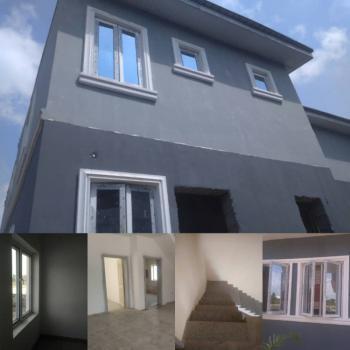 Fast Selling 3bedroom Ensuite Terrace Duplex with Bq, Oribanwa, Lekki, Lagos, Terraced Duplex for Sale