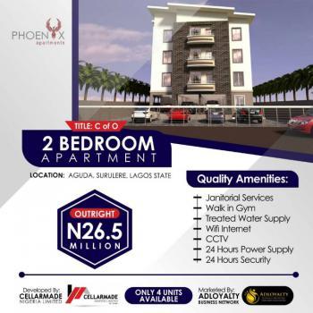 2 Bedroom Flat in Surulere, Aguda, Surulere, Lagos, Block of Flats for Sale