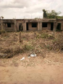 Massive 16 Flats of 1 Bedrooms on a 100x150, Boundary Between Ugbor and Amagba Gra, Benin, Oredo, Edo, Block of Flats for Sale