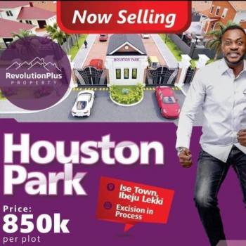 Land, Houston Park Estate, Folu Ise, Ibeju Lekki, Lagos, Residential Land for Sale