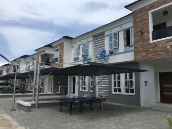 Massive 4 Detached Duplex in a Fully Serviced Estate, Orchid Road, Lafiaji, Lekki, Lagos, Semi-detached Duplex for Rent