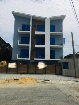 Newly Built 2 Bedroom Studio Apartment with All Rooms Ensuite in a Well Secured Secured Estate, Agungi, Lekki, Lagos, Block of Flats for Sale