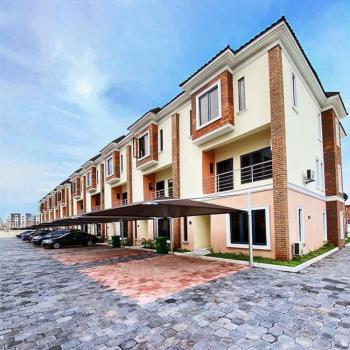 Brand New 4 Bedroom Serviced Terrace with Bq, Abiola Court, Ikate Elegushi, Lekki, Lagos, Terraced Duplex for Rent