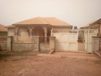 Are You Kidding Me? 3 Bedroom Bungalow Building with B.q for How Much?, Glendine Estate, Lokogoma District, Abuja, Detached Bungalow for Sale