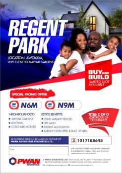Plots of Land, By Mayfair Gardens, Awoyaya, Ibeju Lekki, Lagos, Land for Sale