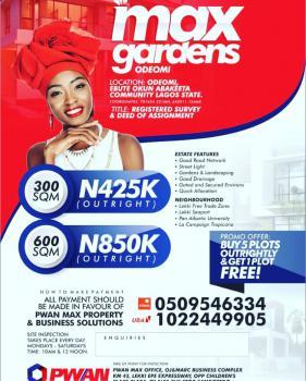 Land (buy 5 Plots Get 1 Free), Lekki Free Trade Zone, Akodo Ise, Ibeju Lekki, Lagos, Mixed-use Land for Sale