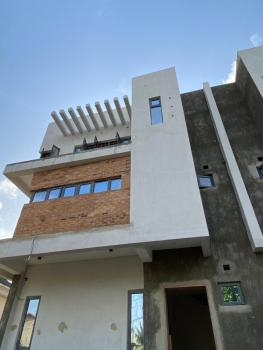 Luxury 4 Bedrooms Semi-detached Duplex with a Maids Room, Osapa, Lekki, Lagos, Semi-detached Duplex for Sale