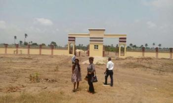 Fenced and Gated Land with C of O Facing The  Express:  Havilla Court, Free Trade Zone, Ibeju Lekki, Lagos, Residential Land for Sale