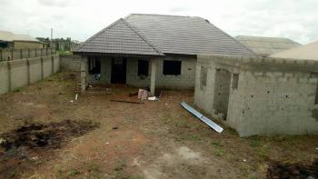 3 Bedroom Bungalow with 3shops and Self Contained Room, Off Agunfoye Area, Igbogbo, Ikorodu, Lagos, Detached Bungalow for Sale