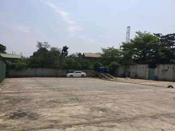 an Expanse of Land with Demolish-able Structures Measuring 4,183.651, Off Adeniyi Jones Avenue, Ikeja - Lagos., Adeniyi Jones, Ikeja, Lagos, Mixed-use Land for Sale