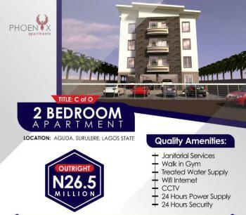 Grab Luxury Two Bedroom Apartment, Phoenix Apartments, Aguda, Surulere, Lagos, Flat for Sale